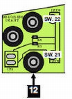 12 - Dual OPTO TRANS Board Assembly  /piece