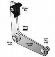 9 - Riveted Arm & Tip Assy  piece