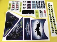 Decal set Batman Dark Knight  set