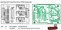 Auxiliary 3 Transistor Driver PCB  piece