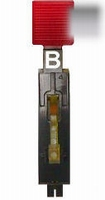B - Modulair Stand-Up Target Sq. Assy Rear Mnt - Clear  piece
