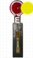 E - Modulair Stand-Up Target Sph Assy Rear Mnt - Gold  piece