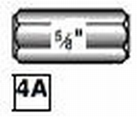 4B -  Identical to 4A with #6-32 Thread end  /piece